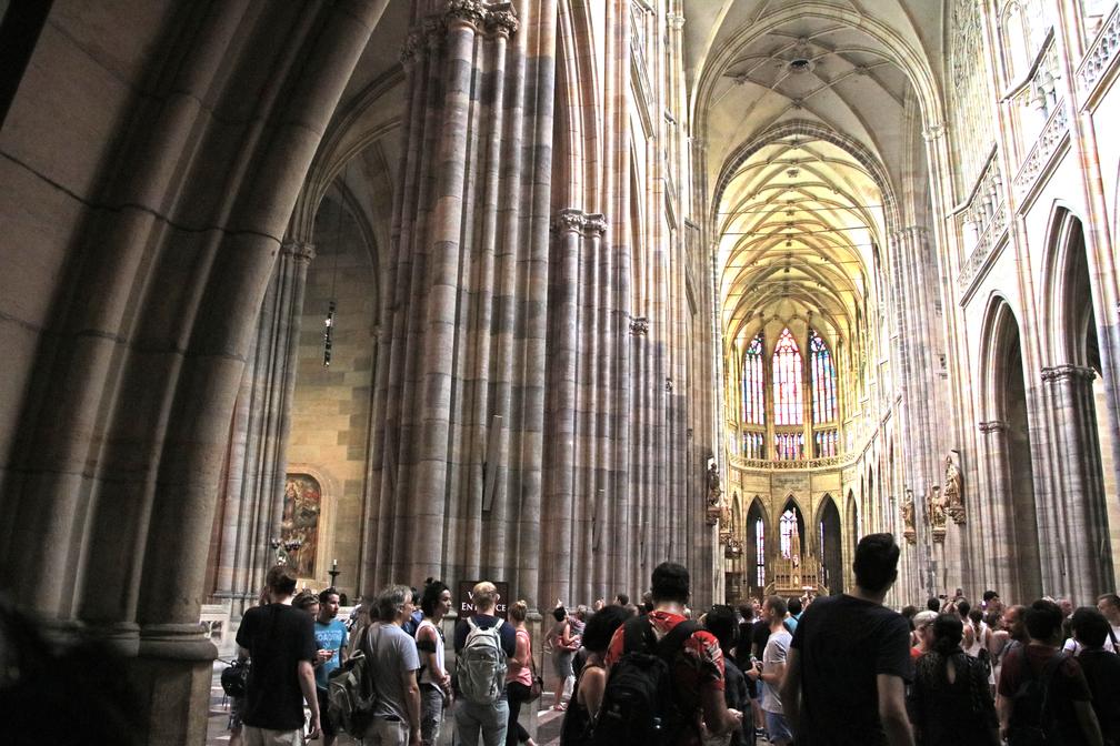 """Прага – ден трети – съботен пазар, Катедралата """"Свети Вит"""" и Карлов мост"""