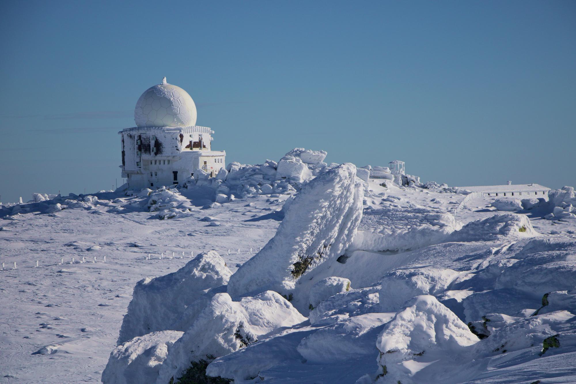 Януарско, планинарско – към Черни връх