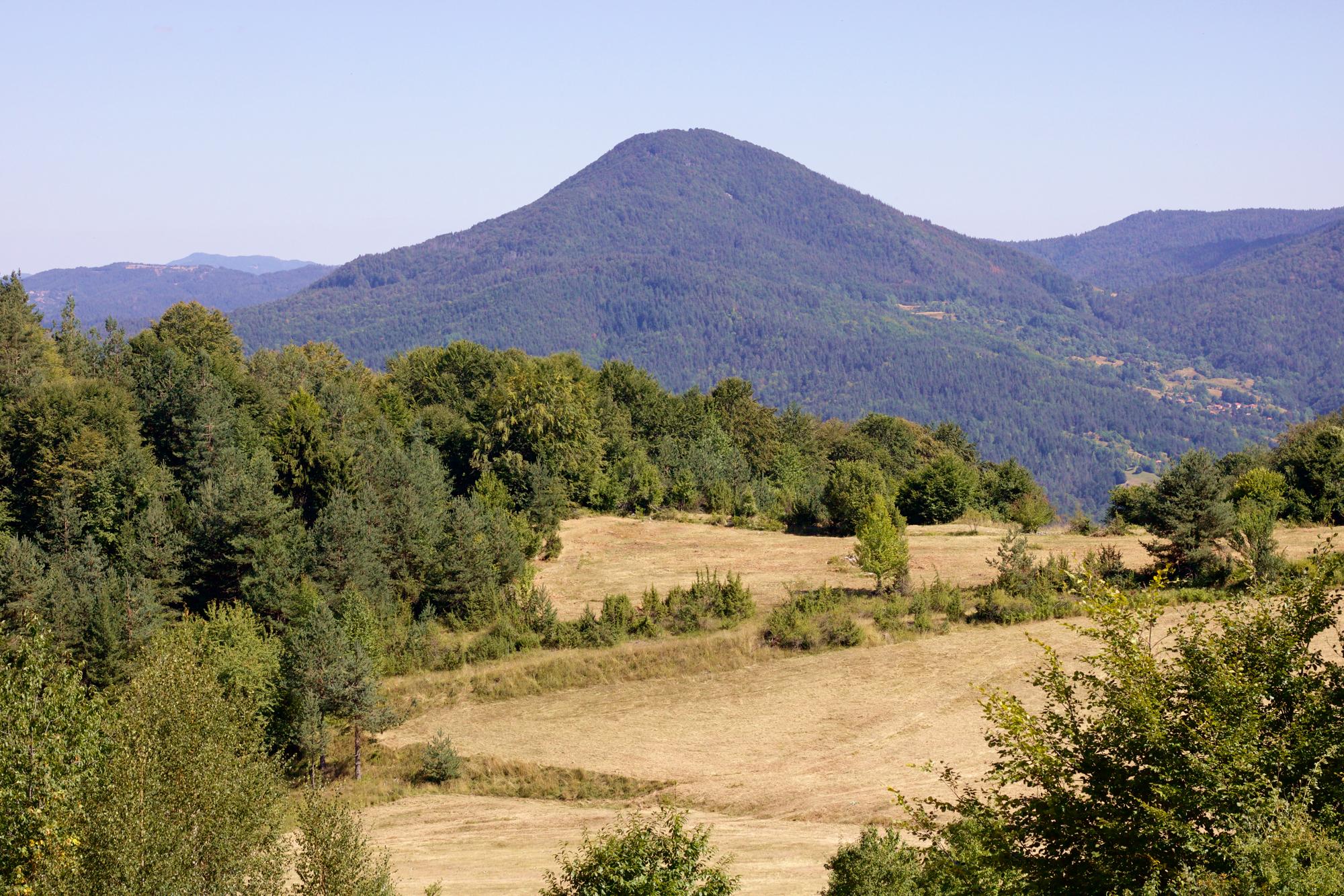Родопския връх Ком при село Арда, нова панорамна площадка и скала с изглед