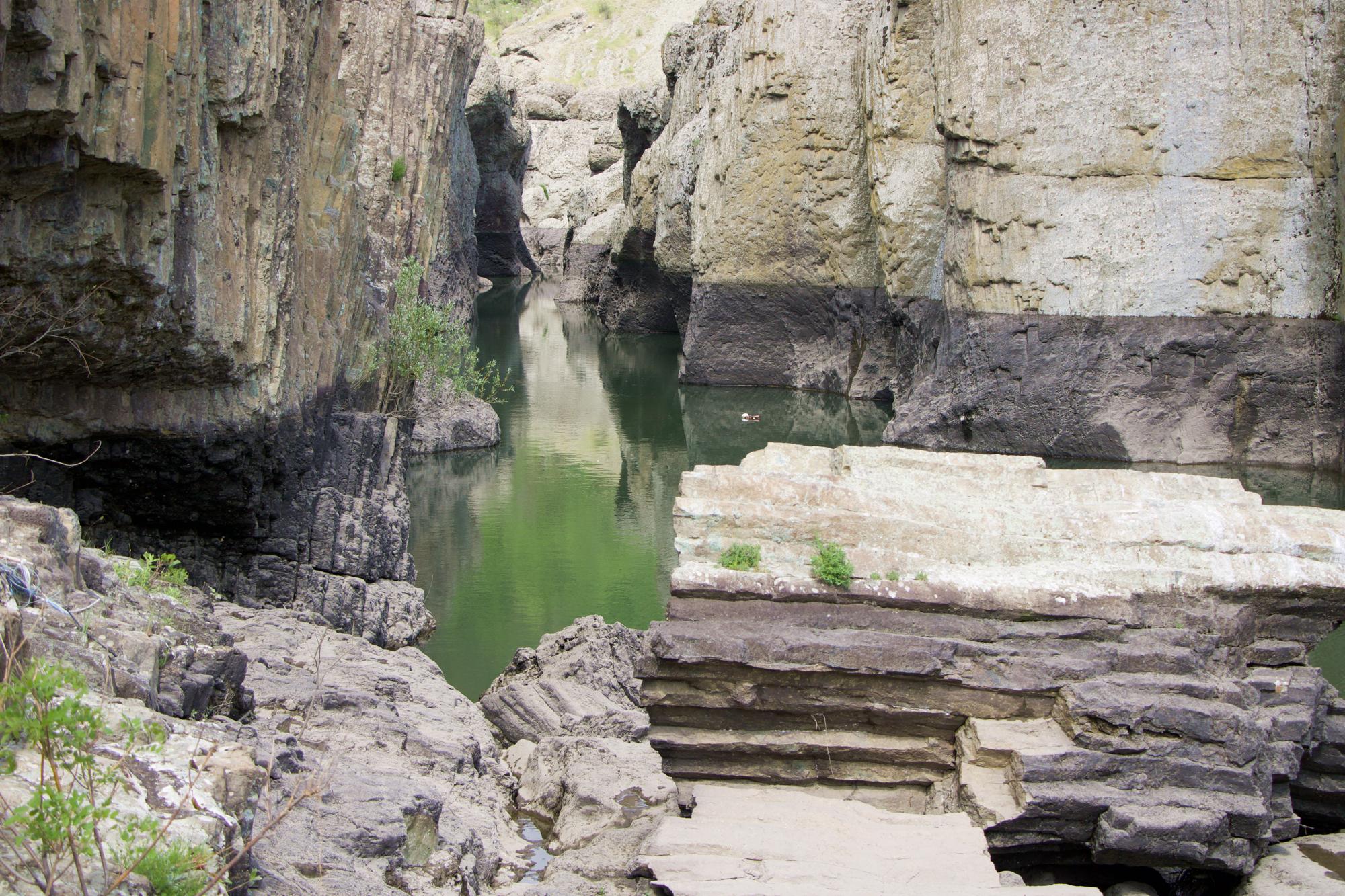 Шейтан дере или Дяволският каньон по поречението на река Арда