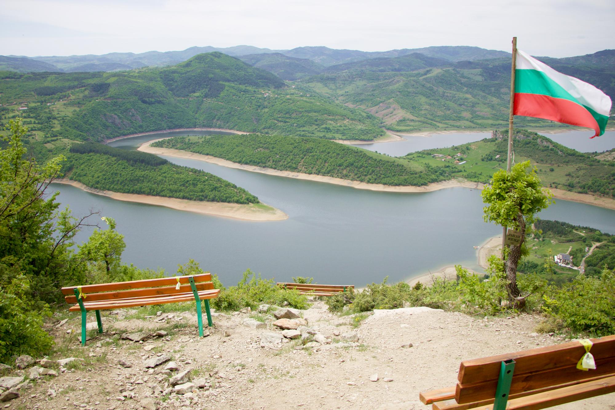 """""""Райски изглед"""" туристически пътека до язовир Кърджали"""